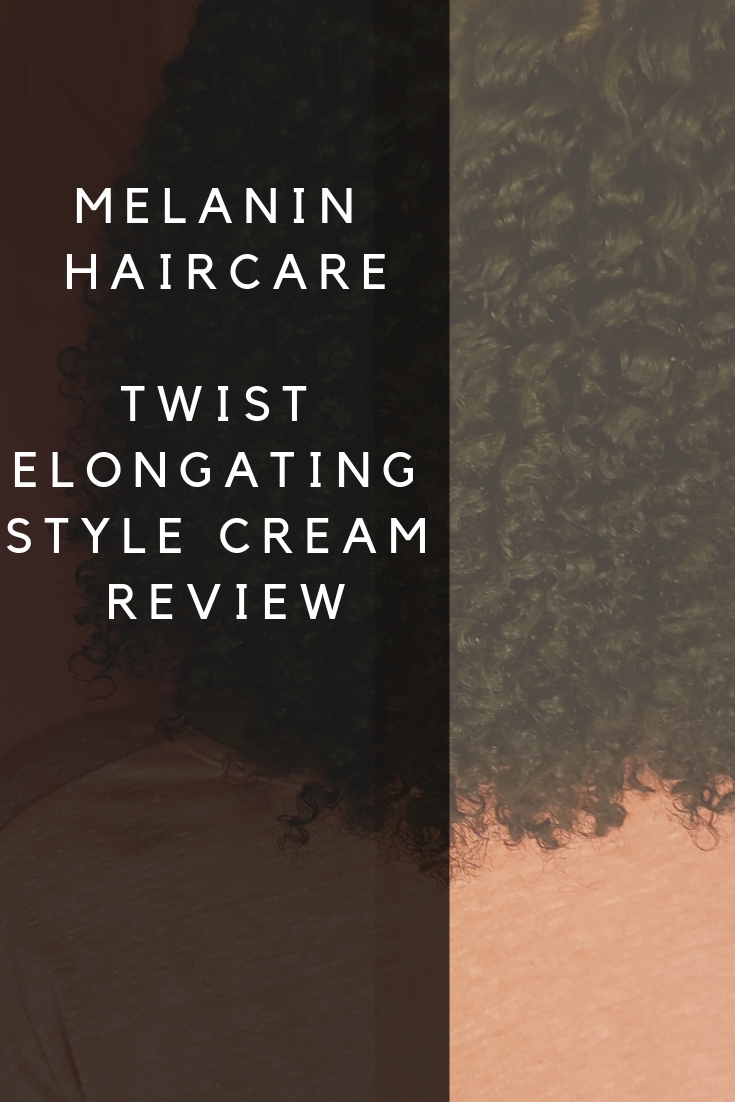 Melanin Hair Care Twist Elongating Style Cream Naptural85